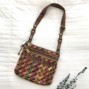 Fossil | Explorer Fabric Crossbody Bag